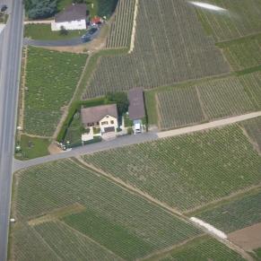 Vue aérienne de notre Maison.