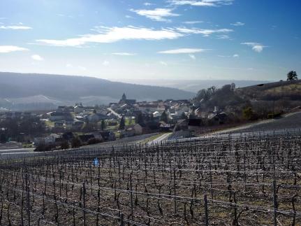 Le village en hiver.