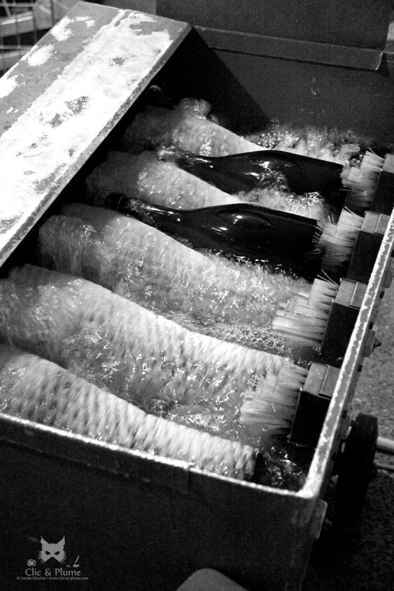 Dégorgement - Lavage des bouteilles